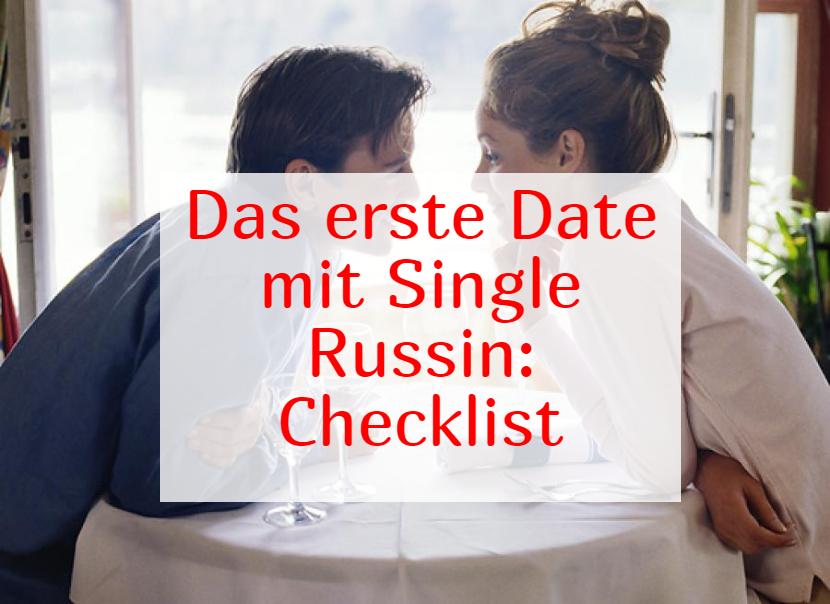 erstes Date mit einer Russin